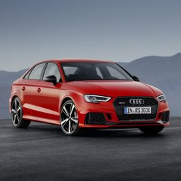 400PS Audi RS 3 Saloon Debuts In Paris