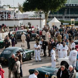 Aston Martin At The 2016 Goodwood Revival