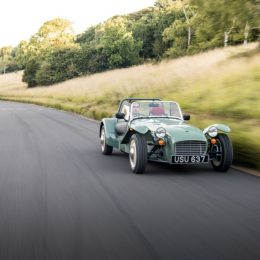 Caterham Sprints Back To The Swinging '60s With The New Caterham Seven Sprint