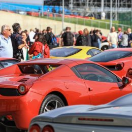 Passione Ferrari 2016 At Silverstone