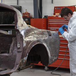 Jaguar XK by Pininfarina - in the workshop