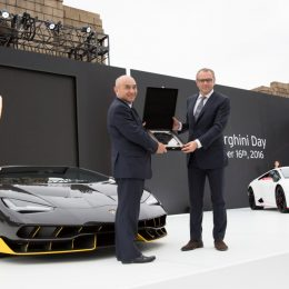 """Lamborghini Celebrates """"Excellence In Carbon Fiber"""" In Tokyo"""