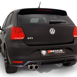 Remus Unveils Brand New Stainless Steel Exhaust System For Mk5 Polo GTi