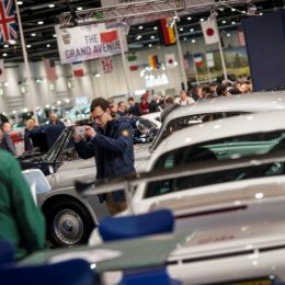 The Best Gets Even Bigger As The London Classic Car Show 2017 Expands Again
