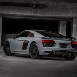 Audi First US Laser Light 2017 R8 V10 Plus Exclusive