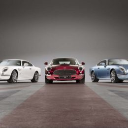 David Brown Automotive Flies The Flag With Speedback GTS In Red, White And Blue