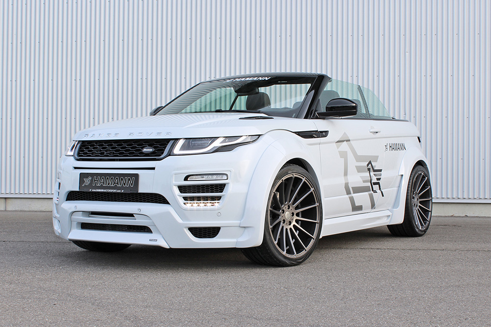 Aston Martin Offers >> Hamann Wide-Body Kit For The Range Rover Evoque Convertible