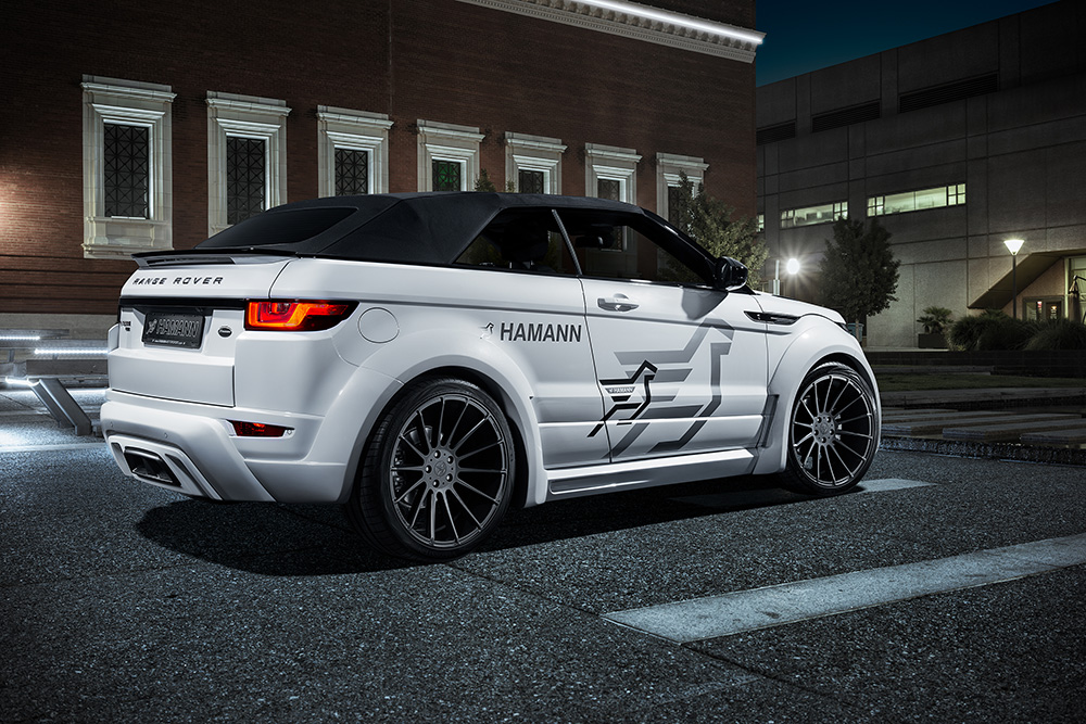 BMW Body Parts >> Hamann Wide-Body Kit For The Range Rover Evoque Convertible