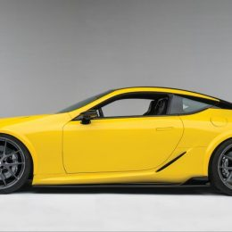Lexus Debuts The World's First Customized LC 500 At The 2016 SEMA Show