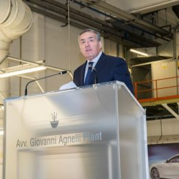 Maserati Car Number 100,000 Leaves The AVV Giovanni Agnelli Plant At Grugliasco