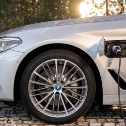 The BMW 530E iPerformance Saloon