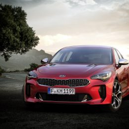 2018 Kia Stinger Makes World Debut At Northern American International Auto Show