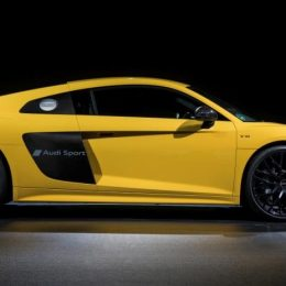 Audi Makes An Impression With New Sideblade Script Option For R8 Supercar