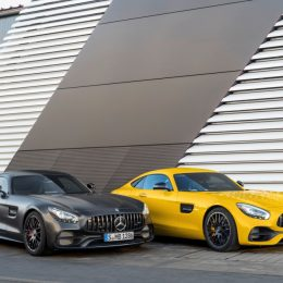 Mercedes AMG Extensively Upgrades AMG GT Family