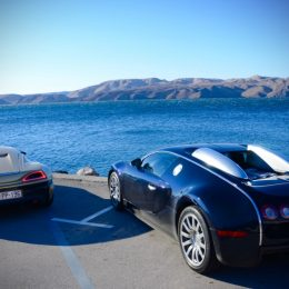 Watch Lord Pembroke's Bugatti Veyron And Mate Rimac's Concept One Go Head To Head