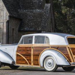 1949 Bentley MkVI Countryman Woodie
