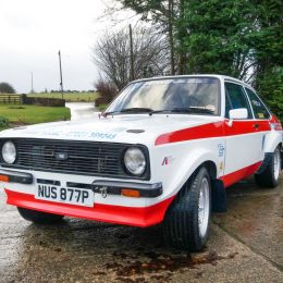 1976 Ford Escort Mk ll - Colin McRae Rally History