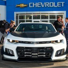 Chevy Unveils 2018 Camaro ZL1 1LE at Daytona