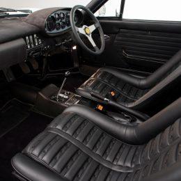 Super Rare Ex-Ross Brawn 1974 Ferrari Dino 246 GTS 'Flares' Goes On Sale At Hexagon
