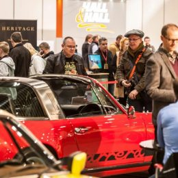 Visitors to The London Classic Car Show 1