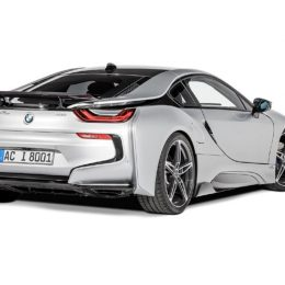 AC Schnitzer Launches The BMW i8 With Carbon Aerodynamic Accessories