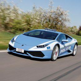 Automobili Lamborghini Delivers A New Huracán Polizia To The Italian Police