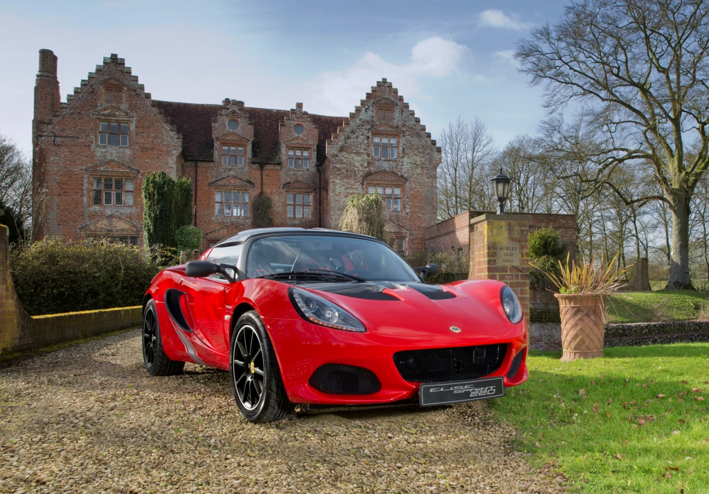 less mass means more lotus � the new lotus elise sprint