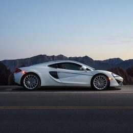 McLaren's Exotic 570GT Sports Car Takes Drive For Parkinson's