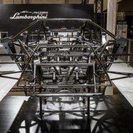 Lamborghini Polo Storico at Techno Classica 2017