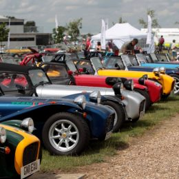 60 Years Of The Lotus Seven At The 2017 Silverstone Classic