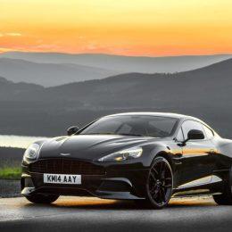 Aston Martin Vanquish Carbon Black