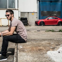 Daniel Abt Shows His Car At Wortherseetreffen
