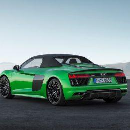 The Audi R8 Spyder V10 Plus