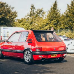 A Peugeot 205 GTi built to battle the Nordschleife