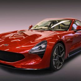 TVR has unveiled its all new TVR Griffith