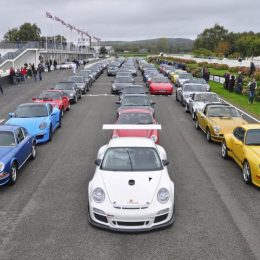Members of the Porsche Club GB raise over £12,500 for children's hospice