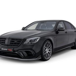 BRABUS 700 based on the 2018 Mercedes S 63