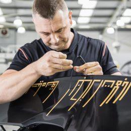 Dubai debut for unique satin black and gold MSO bespoke McLaren 720S