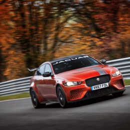 Jaguar SVO XE SV Project 8 Nurburgring record lap