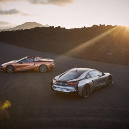 The new BMW i8 Roadster and Coupé