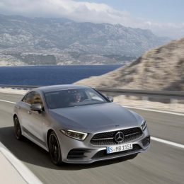 The new Mercedes-Benz CLS