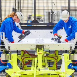 Groupe Renault inaugurates new Alpine A110 production line in Dieppe