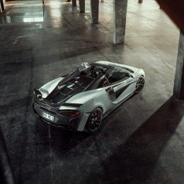 The McLaren 570S Spider refined by NOVITEC