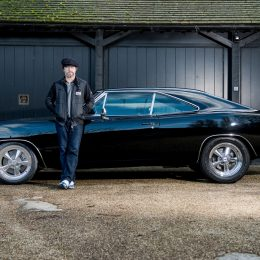 1969 Dodge Charger 'Bullitt' spec with Jay Kay