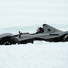 BAC MONO Supercars go extreme on the frozen lakes of Sweden