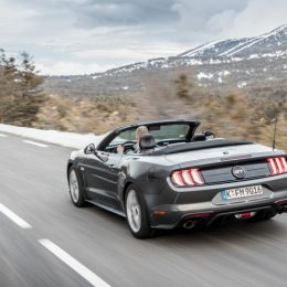 New Ford Mustang faster with more athletic styling