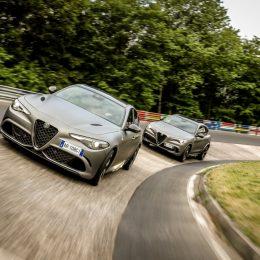 Alfa Romeo Stelvio Quadrifoglio NRING and Alfa Romeo Giulia Quadrifoglio NRING