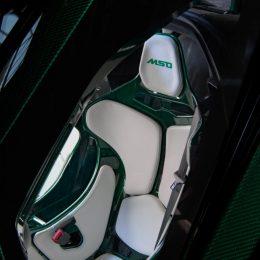 Bespoke McLaren Senna with full visual carbon fibre body in Emerald Green