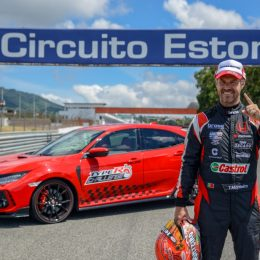 Civic Type R and Honda WTCR driver Tiago Monteiro
