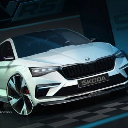 ŠKODA VISION RS sketch